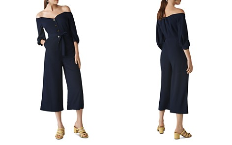 Whistles Carina Off-the-Shoulder Jumpsuit - Bloomingdale's_2