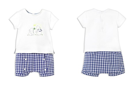 Jacadi Boys' Embroidered Mice Tee & Gingham Shorts Set - Baby - Bloomingdale's_2