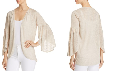 Status by Chenault Open Bell-Sleeve Cardigan - Bloomingdale's_2