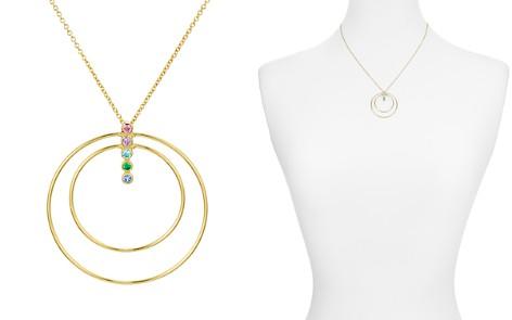"Argento Vivo Rainbow Bar & Double Loop Pendant Necklace, 18"" - Bloomingdale's_2"