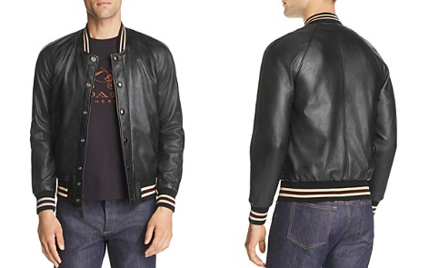 COACH Reversible Leather Souvenir Jacket - Bloomingdale's_2