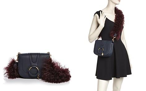 See by Chloé Hana Small Leather & Lamb Fur Crossbody - Bloomingdale's_2