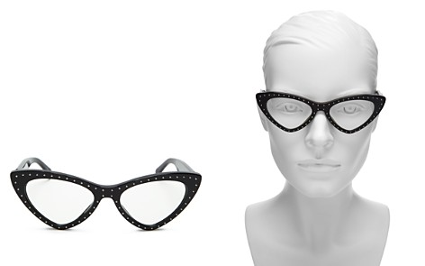 Moschino Women's Slim Cat Eye Optical Glasses, 52mm - Bloomingdale's_2