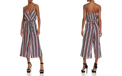 AQUA Striped Wide-Leg Jumpsuit - 100% Exclusive - Bloomingdale's_2