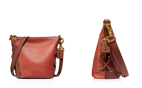 COACH 1941 Glovetanned Leather Color-Block Duffle Bucket Bag - 100% Exclusive - Bloomingdale's_2