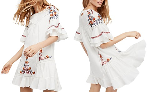 Free People Pavlo Embroidered Mini Dress - Bloomingdale's_2