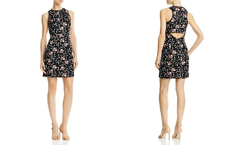 Aidan by Aidan Mattox Lace Cocktail Dress - Bloomingdale's_2