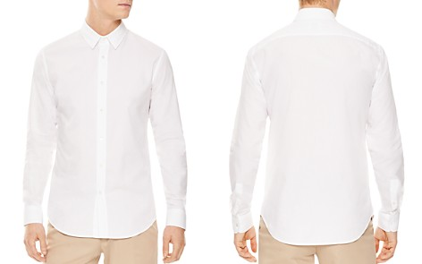 Sandro Ripstop Slim Fit Button-Down Shirt - Bloomingdale's_2