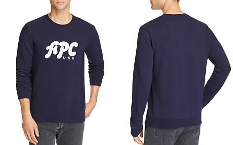 A.P.C. Gabe Logo Graphic Sweatshirt - Bloomingdale's_2
