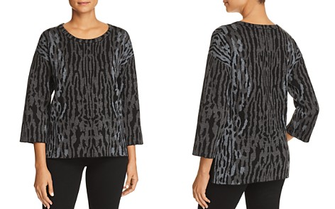 Kobi Halperin Alise Animal-Print High/Low Sweater - Bloomingdale's_2