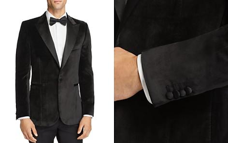 Paul Smith Velvet Satin Peak Slim Fit Tuxedo Jacket - Bloomingdale's_2