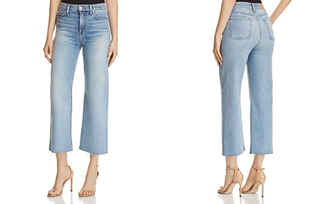 7 For All Mankind Alexa Crop Wide Leg Jeans in Luxe Vintage Flora - Bloomingdale's_2
