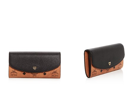 MCM Visetos Continental Flap Wallet - Bloomingdale's_2