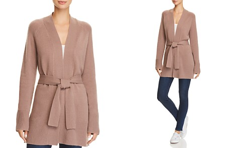 Theory Malinka Belted Cashmere Cardigan - 100% Exclusive - Bloomingdale's_2