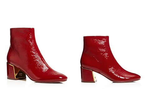 Tory Burch Women's Juliana Tumbled Patent Leather Booties - Bloomingdale's_2