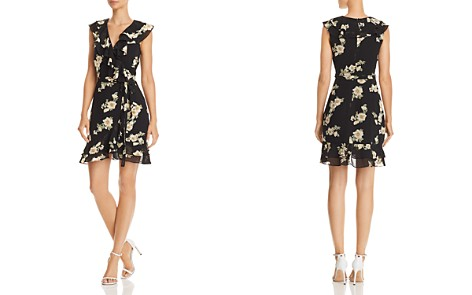 Bardot Ruffled Floral Faux-Wrap Dress - Bloomingdale's_2