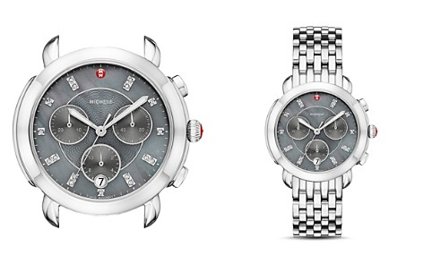 MICHELE Sidney Chronograph Head, 38mm - 100% Exclusive - Bloomingdale's_2