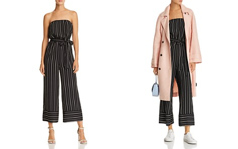 AQUA Striped Strapless Wide-Leg Jumpsuit - 100% Exclusive - Bloomingdale's_2