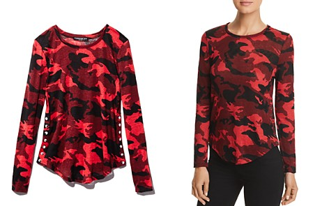 Generation Love Addison Side-Snap Camo Tee - Bloomingdale's_2