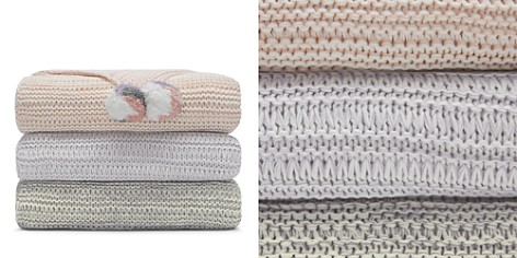 Sky Marled Knit Throw - 100% Exclusive - Bloomingdale's_2