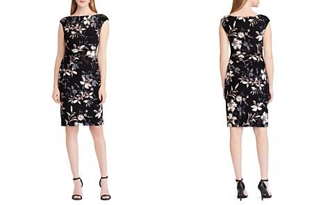 Lauren Ralph Lauren Floral Jersey Dress - Bloomingdale's_2