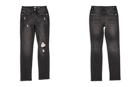 7 For All Mankind Boys' Distressed Paxtyn Jeans in Eclipse - Big Kid - Bloomingdale's_2