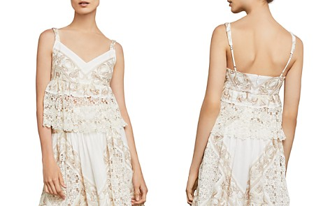 BCBGMAXAZRIA Embroidered Empire-Waist Top - Bloomingdale's_2