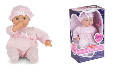 Melissa & Doug Mine to Love Jenna Baby Doll, Food & Bottle Bundle - Ages 0+ - Bloomingdale's_2