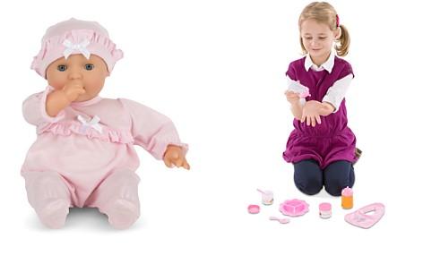 Melissa & Doug Mine to Love Jenna Baby Doll, Food & Bottle Bundle - Ages 0+ - Bloomingdale's_2