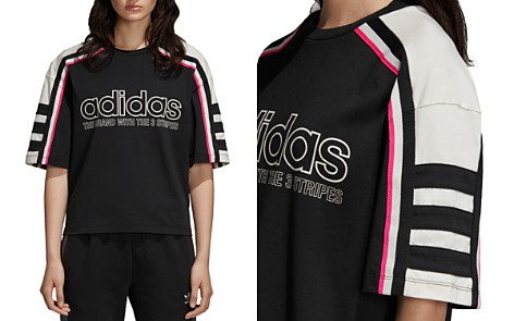 Adidas OG Striped Logo Tee - Bloomingdale's_2