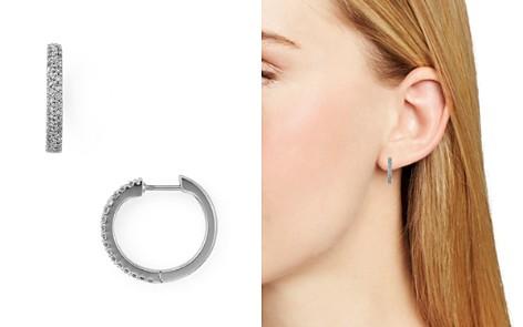 kate spade new york Pavé Huggie Hoop Earrings - Bloomingdale's_2