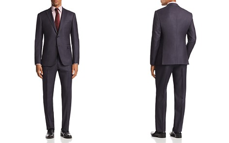 Emporio Armani M-Line Check-Pattern Classic Fit Suit - Bloomingdale's_2