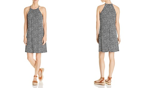 MICHAEL Michael Kors Thora Micro-Floral Print Dress - Bloomingdale's_2
