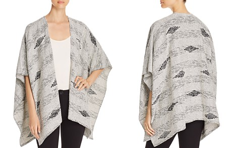 Eileen Fisher Embroidered Diamond Serape - Bloomingdale's_2