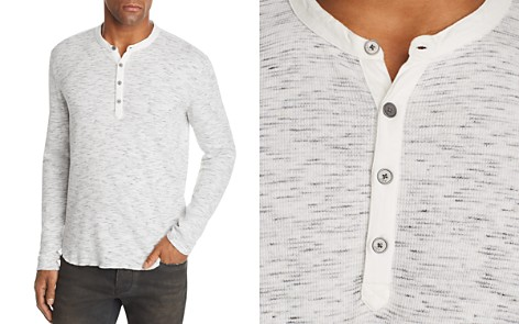 John Varvatos Star USA Space-Dyed Henley - 100% Exclusive - Bloomingdale's_2