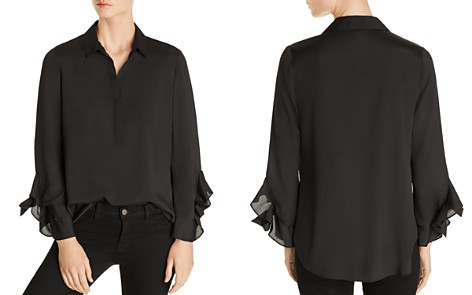 Le Gali Deanna Ruffle-Sleeve Blouse - 100% Exclusive - Bloomingdale's_2