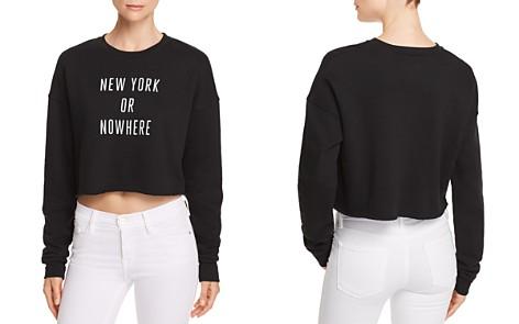 Knowlita New York Or Nowhere Cropped Sweatshirt - 100% Exclusive - Bloomingdale's_2