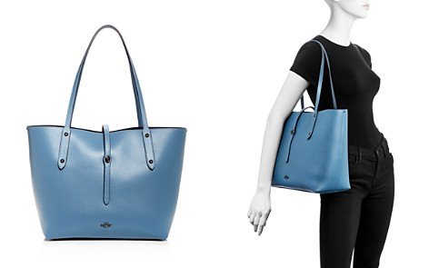 COACH Leather Market Tote - Bloomingdale's_2