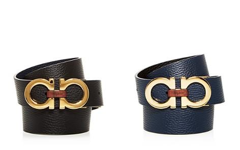 Salvatore Ferragamo Double Gancini Reversible Leather Belt - Bloomingdale's_2