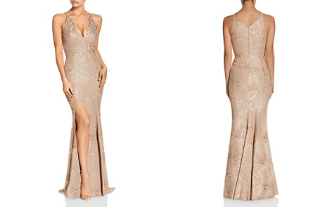 Dress the Population Iris Lace Gown - Bloomingdale's_2