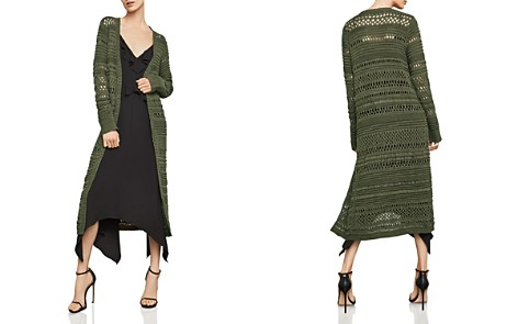 BCBGMAXAZRIA Open-Stitch Duster Cardigan - Bloomingdale's_2