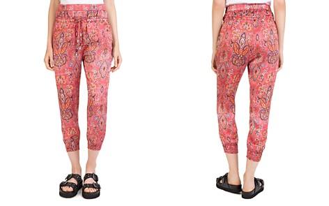 The Kooples Coral Reef Printed Harem-Style Pants - Bloomingdale's_2