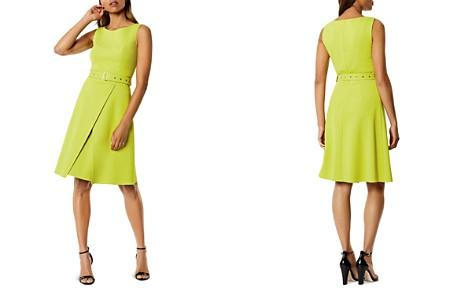 KAREN MILLEN Belted A-Line Dress - Bloomingdale's_2