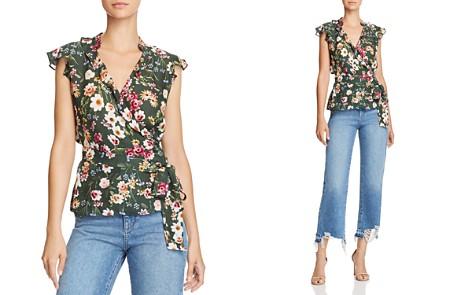 Parker Miranda Floral Wrap Top - Bloomingdale's_2