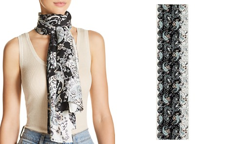 Echo Rajasthan Paisley Print Oblong Silk Scarf - Bloomingdale's_2