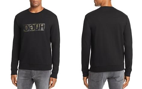 HUGO Dicago Camo Logo Sweatshirt - Bloomingdale's_2
