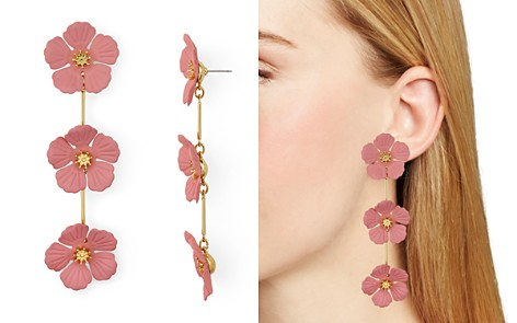 AQUA Floral Trio Drop Earrings - 100% Exclusive - Bloomingdale's_2