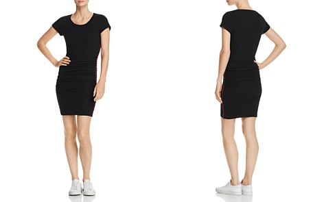Sundry Piped Ruched Dress - Bloomingdale's_2