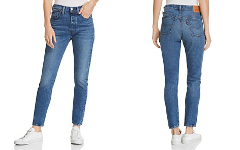 Levi's 501 Skinny Stretch Jeans in We The People - Bloomingdale's_2