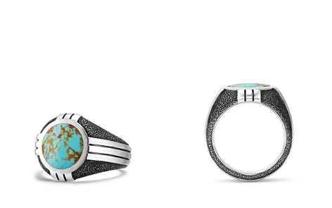 David Yurman Southwest Signet Ring with Turquoise - Bloomingdale's_2